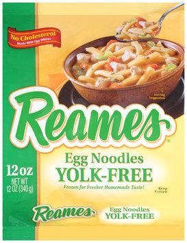 Reames® Yolk-Free Egg Noodles 12 oz. Bag