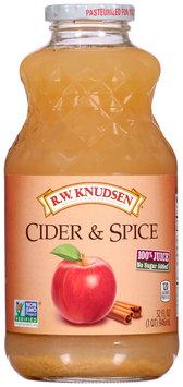 R.W. Knudsen Family® Cider & Spice 100% Juice 32 fl. oz. Bottle