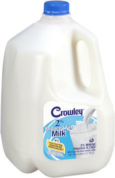 Crowley® 2% Reduced Fat Milk 1 gal. Jug