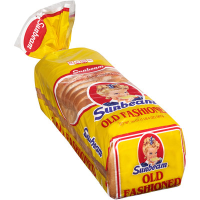 Sunbeam® Old Fashioned Enriched Bread 20 oz. Loaf