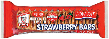 Daddy Ray's Low Fat 2/$1.00 Strawberry Fig Bars 5 Oz Tray
