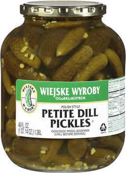 Wiejske Wyroby Petite Dill Pickles