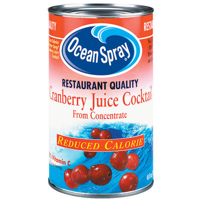 Ocean Spray Cranberry Restaurant Quality Reduced Calorie Juice Cocktail