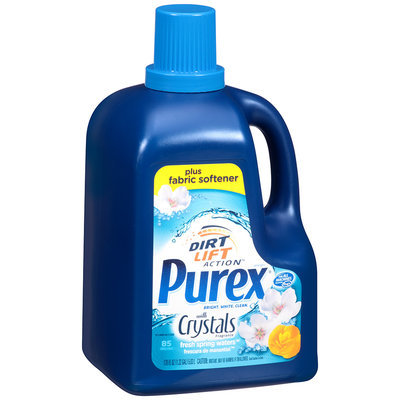 Purex® with Crystals Fragrance Fresh Spring Waters™ Liquid Laundry Detergent 170 fl. oz. Plastic Jug