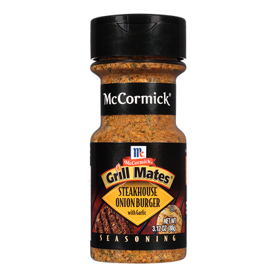 McCormick® Grill Mates® Steakhouse Onion Burger Seasoning