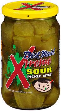 Best Maid® Xtreme Sour Pickle Bitez 24 fl. oz. Jar