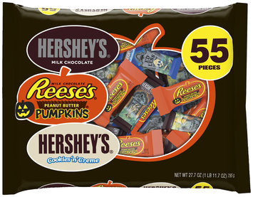Hershey's Halloween Assorted Candy, 55 count