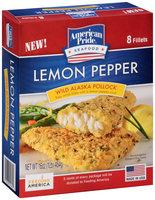 American Pride® Lemon Pepper Wild Alaska Pollock 8 ct Box