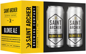 Saint Archer Brewing Company Blonde Ale Beer 6-12 fl. oz. Cans