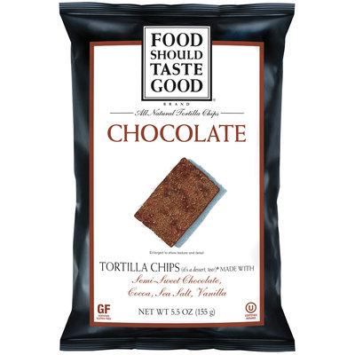 Food Should Taste Good Chocolate Tortilla Chips