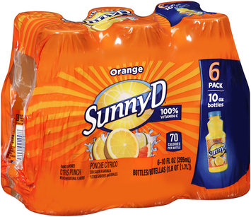 SunnyD® Orange Citrus Punch 6-10 fl. oz. Bottles