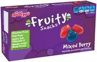 Kellogg's® Mixed Berry Fruity Snacks 3.1 oz. Box