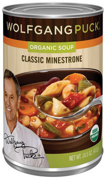 Wolfgang Puck Classic Minestrone Organic Soup 14.5 Oz Can