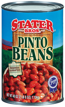 Stater Bros. Pinto Beans 40 Oz Can
