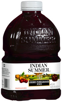 Indian Summer 100% Cherry Pomegranate Juice 46 fl oz Plastic Bottle