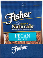 Fisher® Chef's Naturals® Pecan Halves 2 oz. Bag