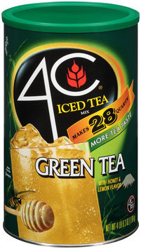 4C® Green Tea Iced Tea Mix 70.3 oz. Canister