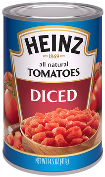Heinz® Diced Tomatoes 14.5 oz. Can