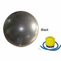 Sivan Health And Fitness 52cm Anti-burst gym ball, Black, 1 ea