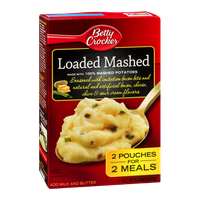 Betty Crocker Loaded Mashed Potatoes - 2 CT