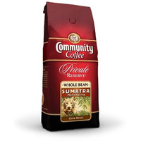 Community Coffee Private Reserve Whole Bean Coffee, Dark Roast, Sumatra, 12-Ounce Bags (Pack of 3)