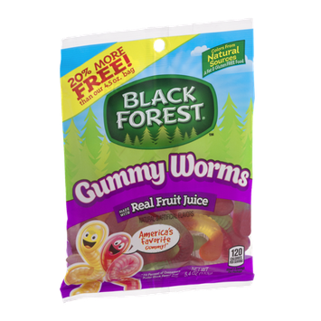 Black Forest Gummy Worms