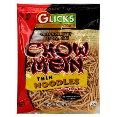Glicks Glick's Chow Mein Noodle Thin, 12-Ounce (Pack of 12)