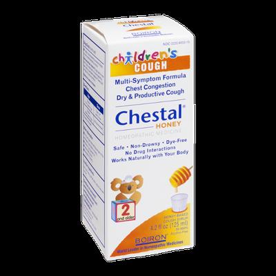 Boiron Chestal Children's Cough Syrup Honey