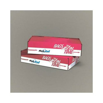 Essex Flexsol HDH48CLR Clear 14 Mic High Density Heavy Flatpacked Can Liners