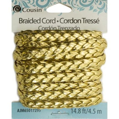 Cousin Gold Braided Cord, 14.8