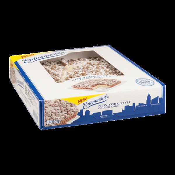 Entenmann S New York Style Crumb Cake