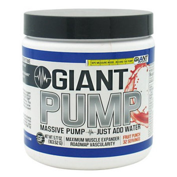 Giant Sports Products Giant Pump Fruit Punch - 32 Servings