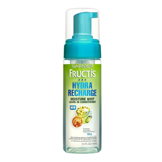 Garnier Fructis Haircare Hydra Recharge Moisture Whip Leave-In Treatment For Dry Hair