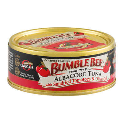 Bumble Bee Prime Fillet Albacore Tuna with Sundried Tomatoes & Olive Oil