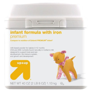 up & up Infant Formula Premium - 40oz