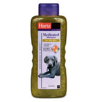 Hartz Medicated Shampoo, 18 Ounce