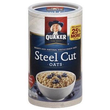 Quaker Steel Cut Oats, 30 oz, (Pack of 24)