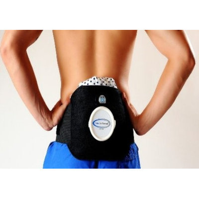 Infraredcare 82204-2 Lumbar wrap brace support with ice bag - Small