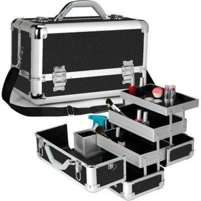 Seya Professional 3-Tier Makeup Case Color: Black