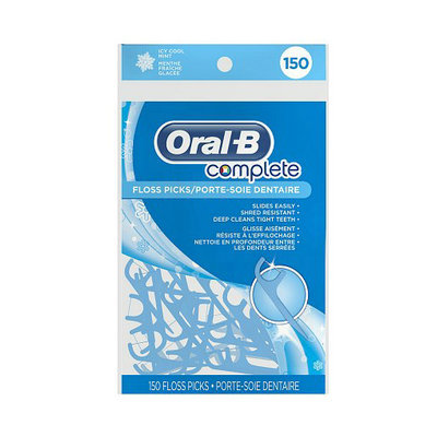 Oral-B Complete Floss Picks Icy Cool Mint