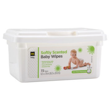 DG Baby Baby Wipes - Scented - 72 CT