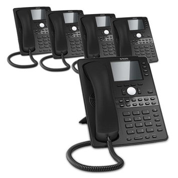 Snom D765 (5-Pack) D765 Desk Telephone
