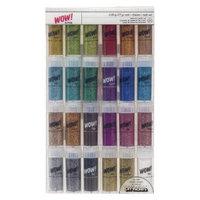 American Crafts Multi Color Glitter Pack-24 Pc