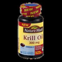 Nature Made Krill Oil Liquid Softgels 300mg - 60 CT