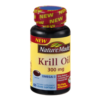 Nature Made Krill Oil Liquid Softgels 300mg - 60 CT