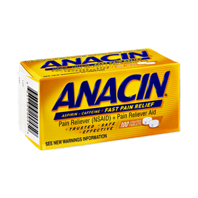 Anacin Fast Pain Relief - 100 CT