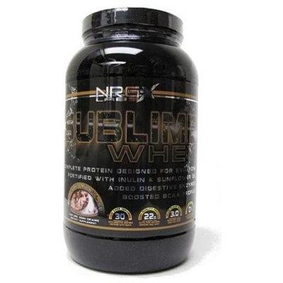 Nrg-x Labs Sublime Whey 30 Servings (990 gr) Chocolate Chip