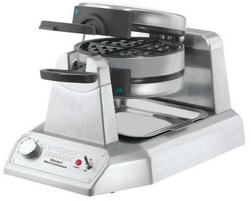 Waring Belgian Waffle Maker - Double, Stacked WW200