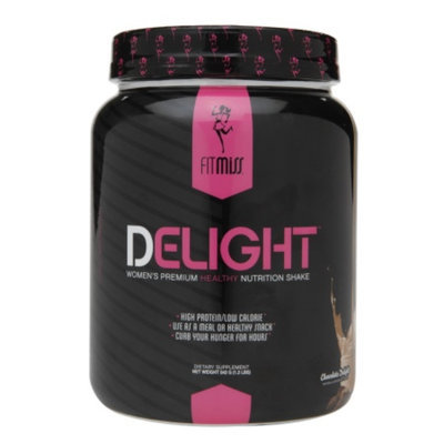 FitMiss Delight Women's Premium Healthy Nutrition Shake, Chocolate Delight, 1.2 lbs