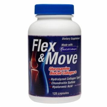 Flex & Move Glucosamine, Capsules, 120 ea